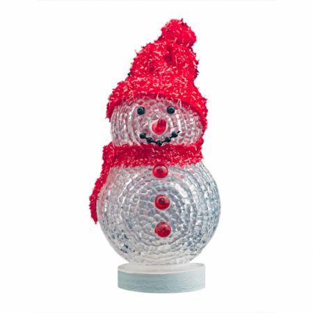 Снеговик с многоцветной подсветкой питание USB