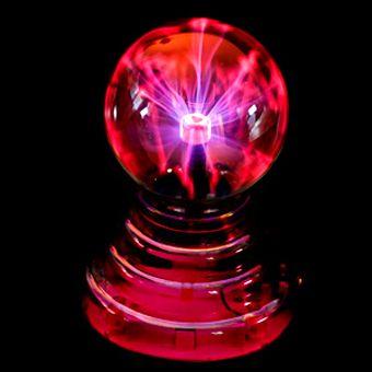 Плазма шар звукочувствительный USB