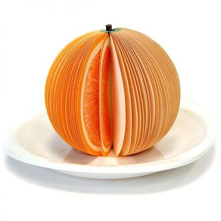 Блокнот Апельсин