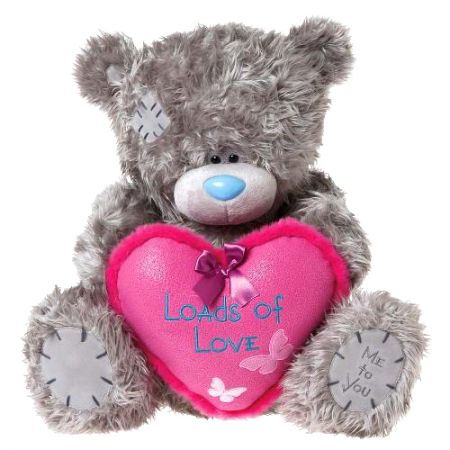 Мишка Me to You 61 см - держит сердце Loads of Love G01W2806