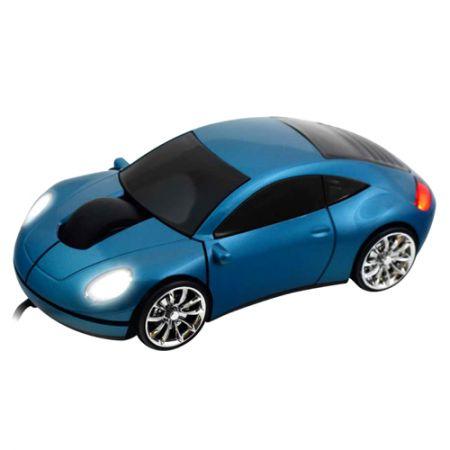 Мышь «Porshe 911» Lazaro оптическая голубая USB