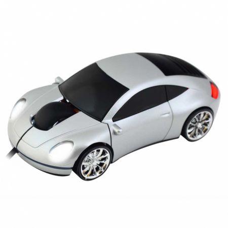 Мышь «Porsche 911» оптическая серебристая USB