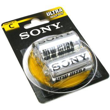 Батарейка Sony R14 (Тип С)  1.5В New ultra