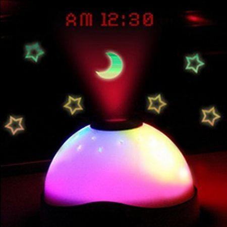 Часы-будильник Проекционные со звездным небом