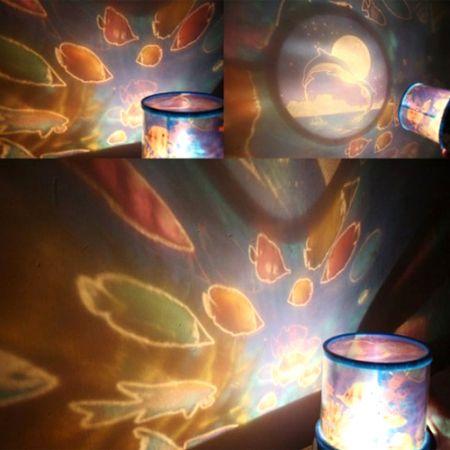 Ночник - проектор Океан с рыбками