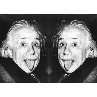 """Обложка для паспорта """"Эйнштейн"""""""