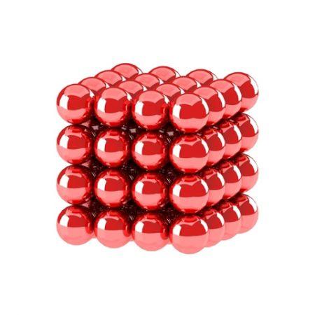 Головоломка NeoCube 5мм 64 сферы красный