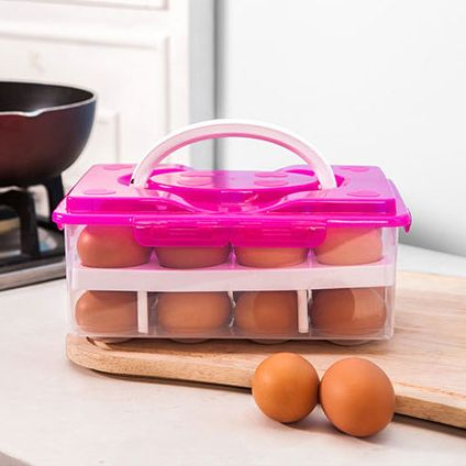 Контейнер пластиковый на 24 яйца