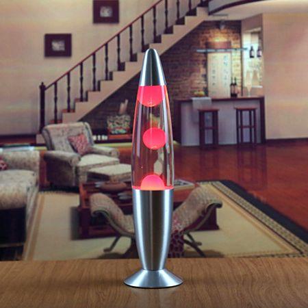 Лава лампа - релаксант Красная (Lava lamp) 220V