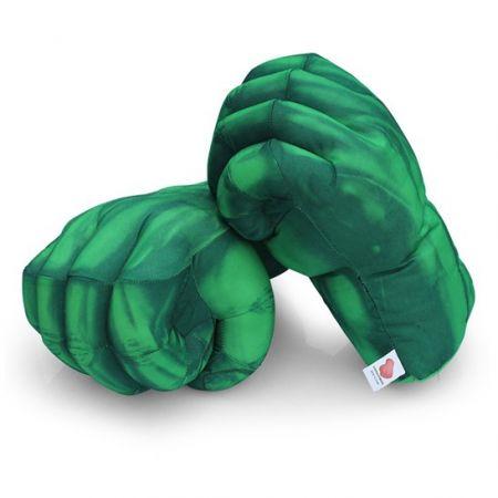 "Мягкая игрушка - перчатка ""Руки Халка"" кулаки"