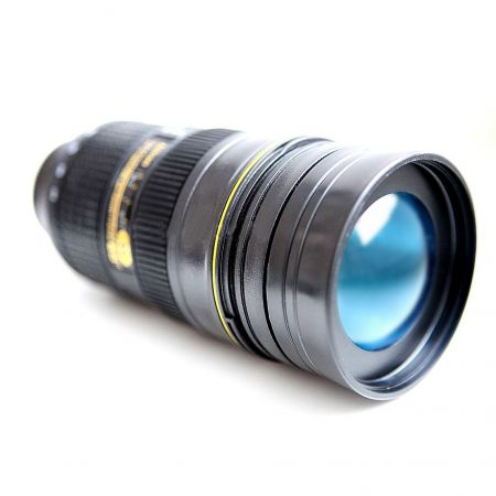 Термостакан обьектив фотоаппарата Nican с крышкой линзой