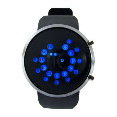 """LED часы Skmei """"Зеркальные"""" черные"""