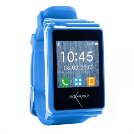 Умные наручные часы MyKronoz ZeNano Blue (синие) SW для iPhone Samsung