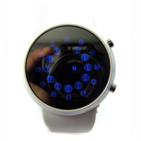 "Часы ""Радар"" 2 кнопки белые"