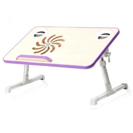 Столик для ноутбука с колонками и USB охлаждением раскладной