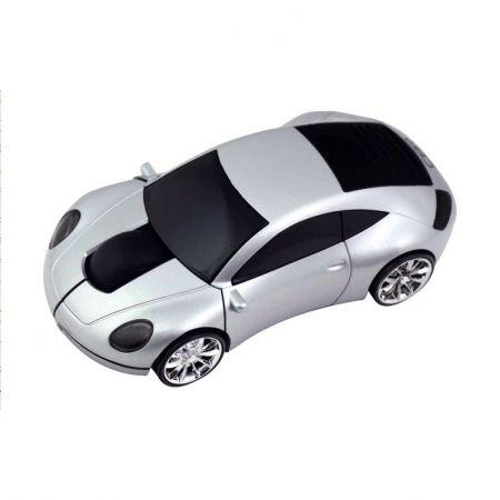 Мышь беспроводная «Lazaro 911» оптическая серебристая машинка