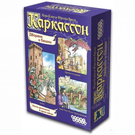 """Настольная игра Каркассон. """"Дворяне и башни"""""""