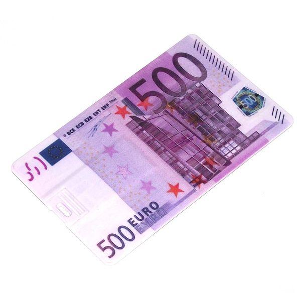 Флешка Кредитка 8 Гб 500 Евро
