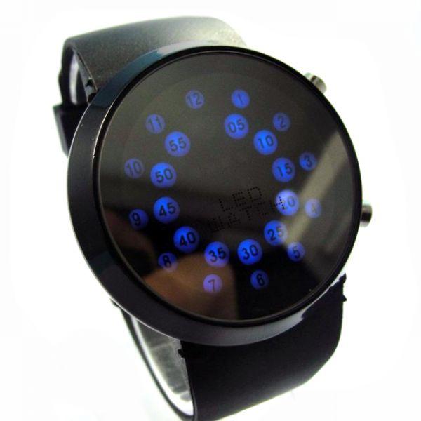 """Часы """"Радар"""" 2 кнопки черные"""