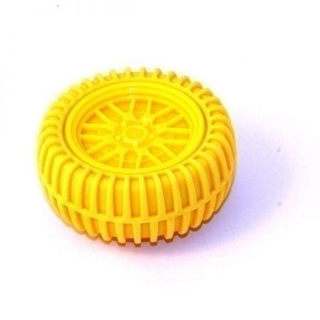 Точилка для карандашей Колесо желтая