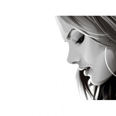 Обложка для автодокументов N 14 девушка
