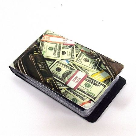 Визитница N55 кейс с деньгами