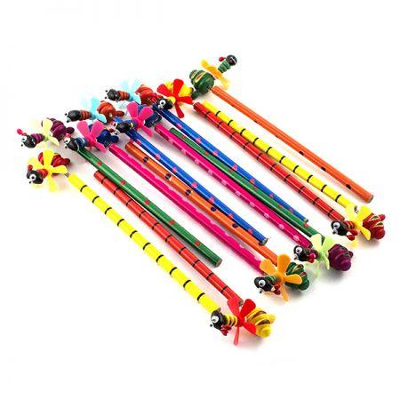 Набор карандашей на пружинке Муравьи 12шт в пакете