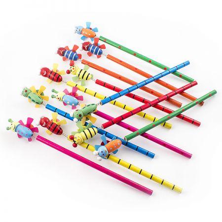 Набор карандашей 7 на пружинке 12 шт в кор.
