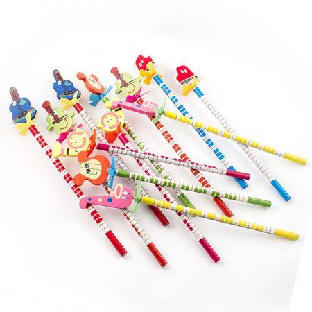 Набор карандашей 12 на пружинке 12 шт в кор.