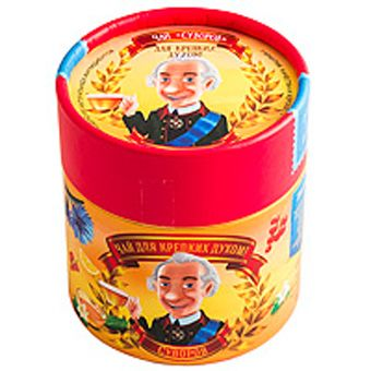 Чай ягодный Суворов в Тубусе 55г